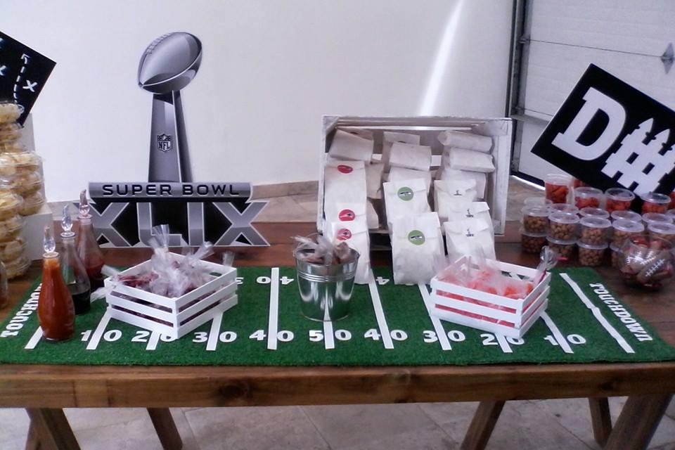 Decoración Super Bowl
